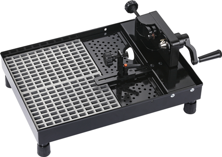 Oil Filter Cutter With Drain Base